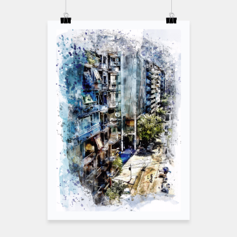 Thumbnail image of Athens city Plakat, Live Heroes