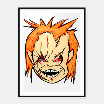 Thumbnail image of IT'S CHUCKY! Framed poster, Live Heroes