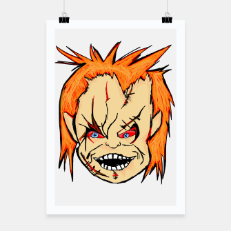Thumbnail image of IT'S CHUCKY! Poster, Live Heroes