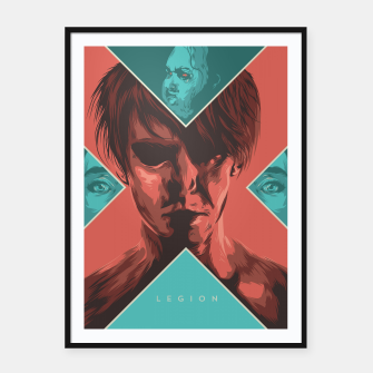 Thumbnail image of Legion Framed poster, Live Heroes