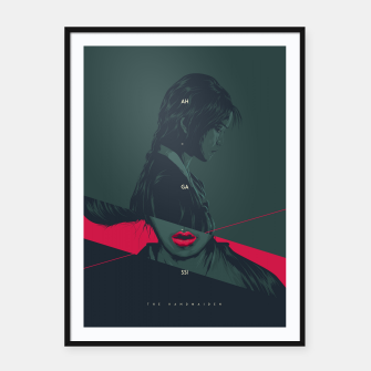 Thumbnail image of The Handmaiden Framed poster, Live Heroes