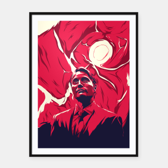 Thumbnail image of hannibal  Framed poster, Live Heroes