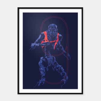 Thumbnail image of Dristict 9 Framed poster, Live Heroes