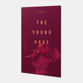 Thumbnail image of Young Pope Canvas, Live Heroes
