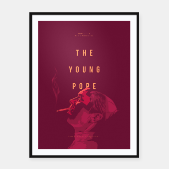 Thumbnail image of Young Pope Framed poster, Live Heroes