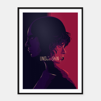 Thumbnail image of Under the Skin Framed poster, Live Heroes