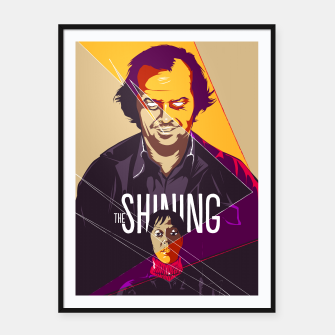 Thumbnail image of The Shining Framed poster, Live Heroes