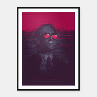 Thumbnail image of nightcrawler Framed poster, Live Heroes