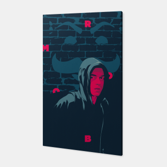 Thumbnail image of mr robot Canvas, Live Heroes