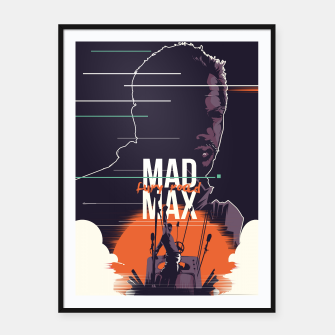 Thumbnail image of mad max Framed poster, Live Heroes