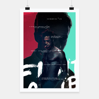 Thumbnail image of Fight Club - Alternative movie poster Poster, Live Heroes