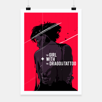 Thumbnail image of The Girl with Dragon Tatoo Poster, Live Heroes
