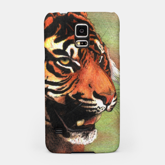 Thumbnail image of Tiger mouth Samsung Galaxy Case, Live Heroes