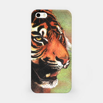 Thumbnail image of Tiger mouth iPhone Case, Live Heroes