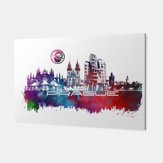 Thumbnail image of Prague skyline Canvas, Live Heroes