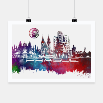 Thumbnail image of Prague skyline Plakat, Live Heroes