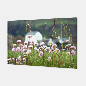 Thumbnail image of Purple Clover Wild Flowers  Canvas, Live Heroes