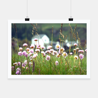 Thumbnail image of Purple Clover Wild Flowers  Poster, Live Heroes