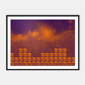 Thumbnail image of LSD - BRAIN - SPACE Framed poster, Live Heroes