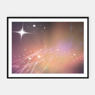 The sound of stars Framed poster obraz miniatury