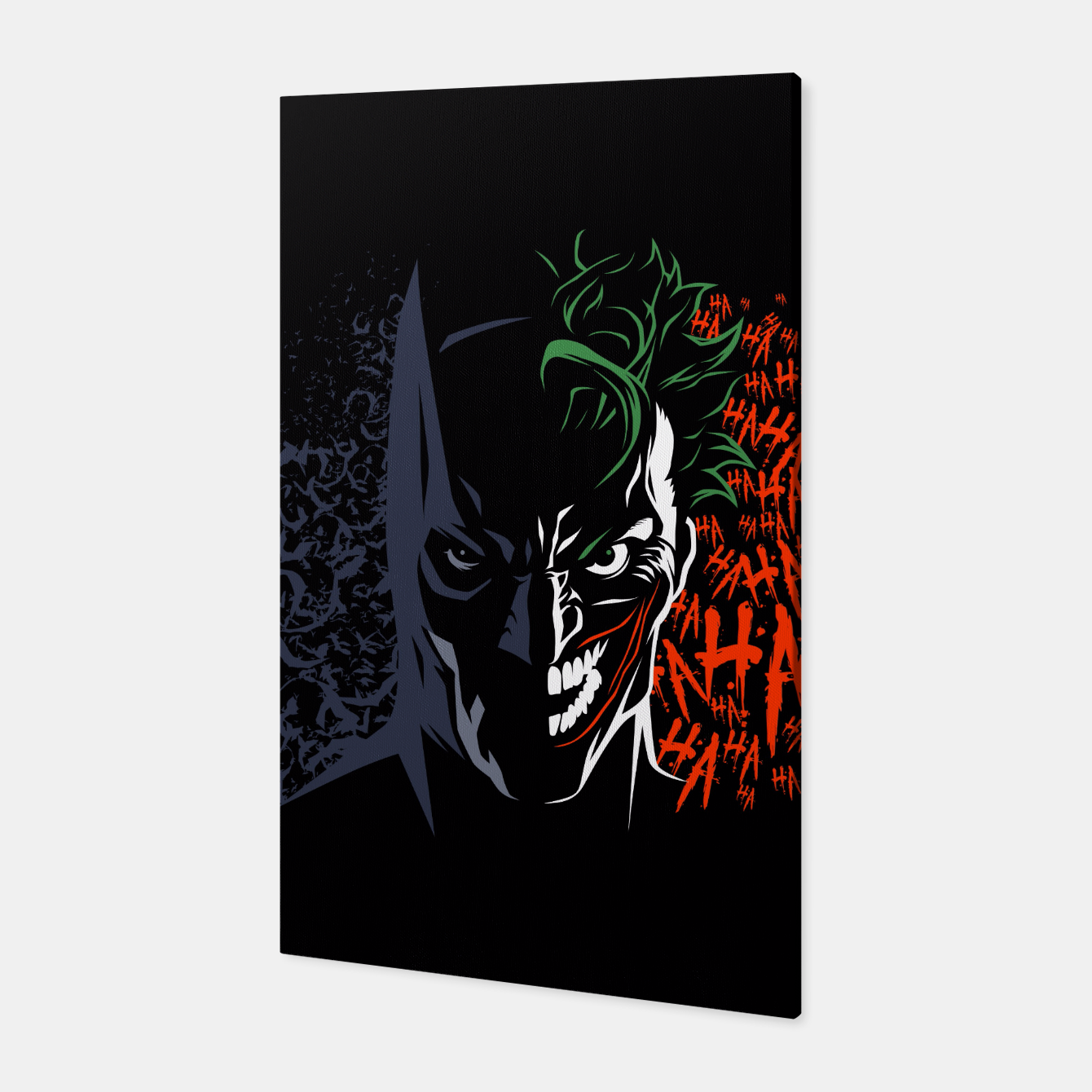 Image of Face to face Canvas - Live Heroes