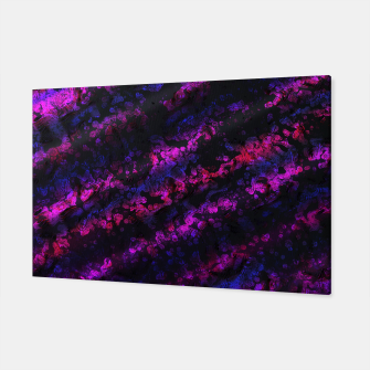 Purple Waves Canvas Bild der Miniatur