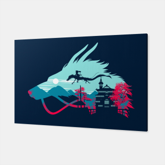 Thumbnail image of Traveling in my dragon Canvas, Live Heroes