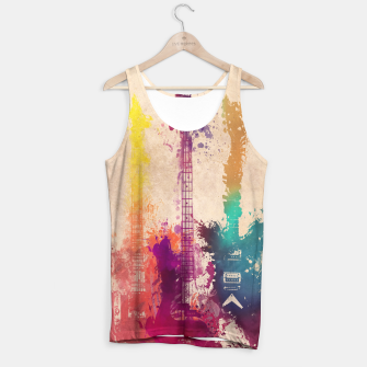 Thumbnail image of guitars Tank Top, Live Heroes