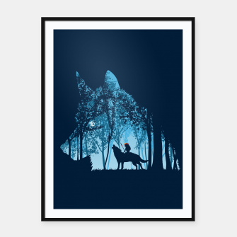 Wolf forest Cartel con marco thumbnail image