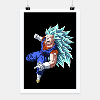 Miniatur Vegetto blue Cartel, Live Heroes