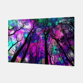 Magic forest Canvas obraz miniatury