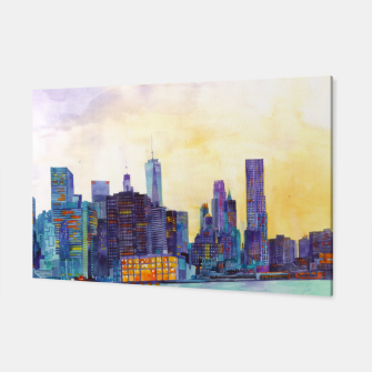 Thumbnail image of NYC panorama Canvas, Live Heroes