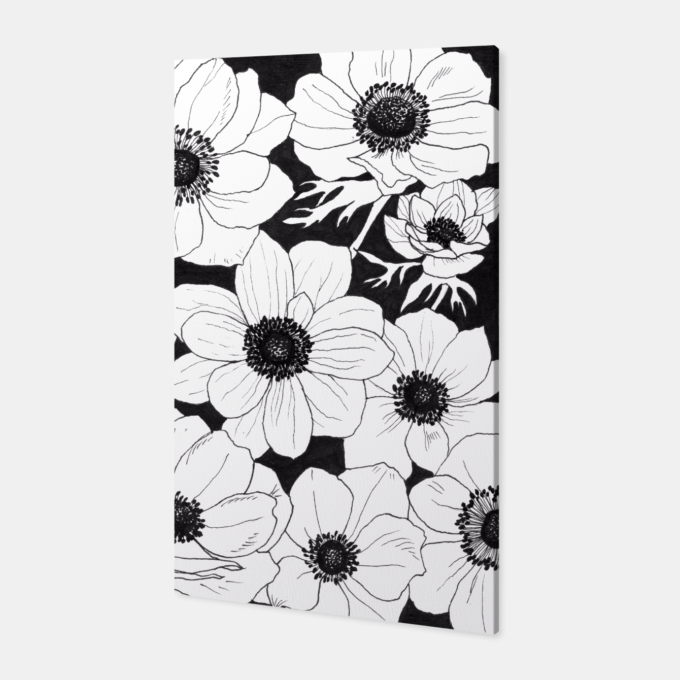 Image of Anemones Canvas - Live Heroes
