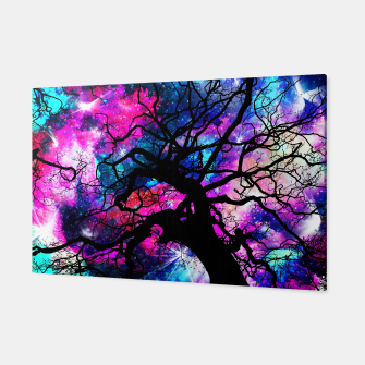 Starfield Tree Canvas obraz miniatury