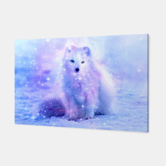 Miniaturka Arctic Iceland Fox Canvas, Live Heroes