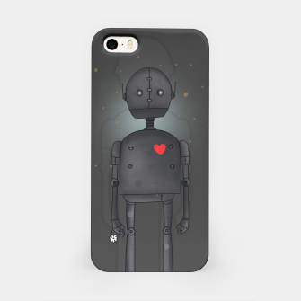 Miniatur Robot iPhone Case, Live Heroes