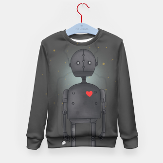 Thumbnail image of Robot Kid's Sweater, Live Heroes