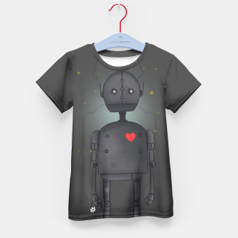 Thumbnail image of Robot Kid's T-shirt, Live Heroes