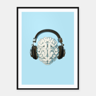 Thumbnail image of Mind Music Connection Framed poster, Live Heroes