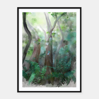 Thumbnail image of Jungle Framed poster, Live Heroes
