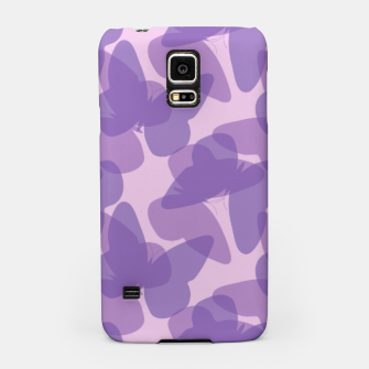 Thumbnail image of Purple Butterflies Samsung Case, Live Heroes
