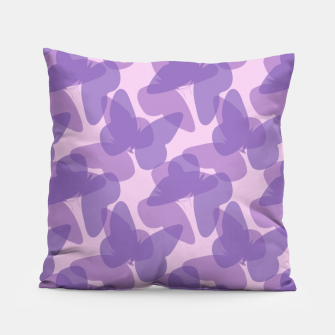 Thumbnail image of Purple Butterflies Pillow, Live Heroes