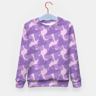 Thumbnail image of Purple Butterflies Kid's Sweater, Live Heroes