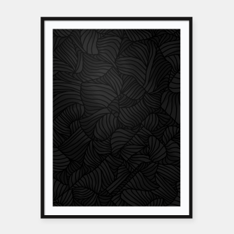 Thumbnail image of blk Framed poster, Live Heroes