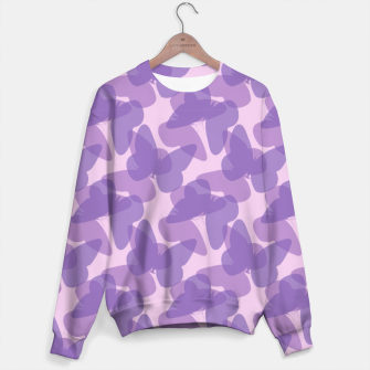 Thumbnail image of Purple Butterflies Sweater, Live Heroes