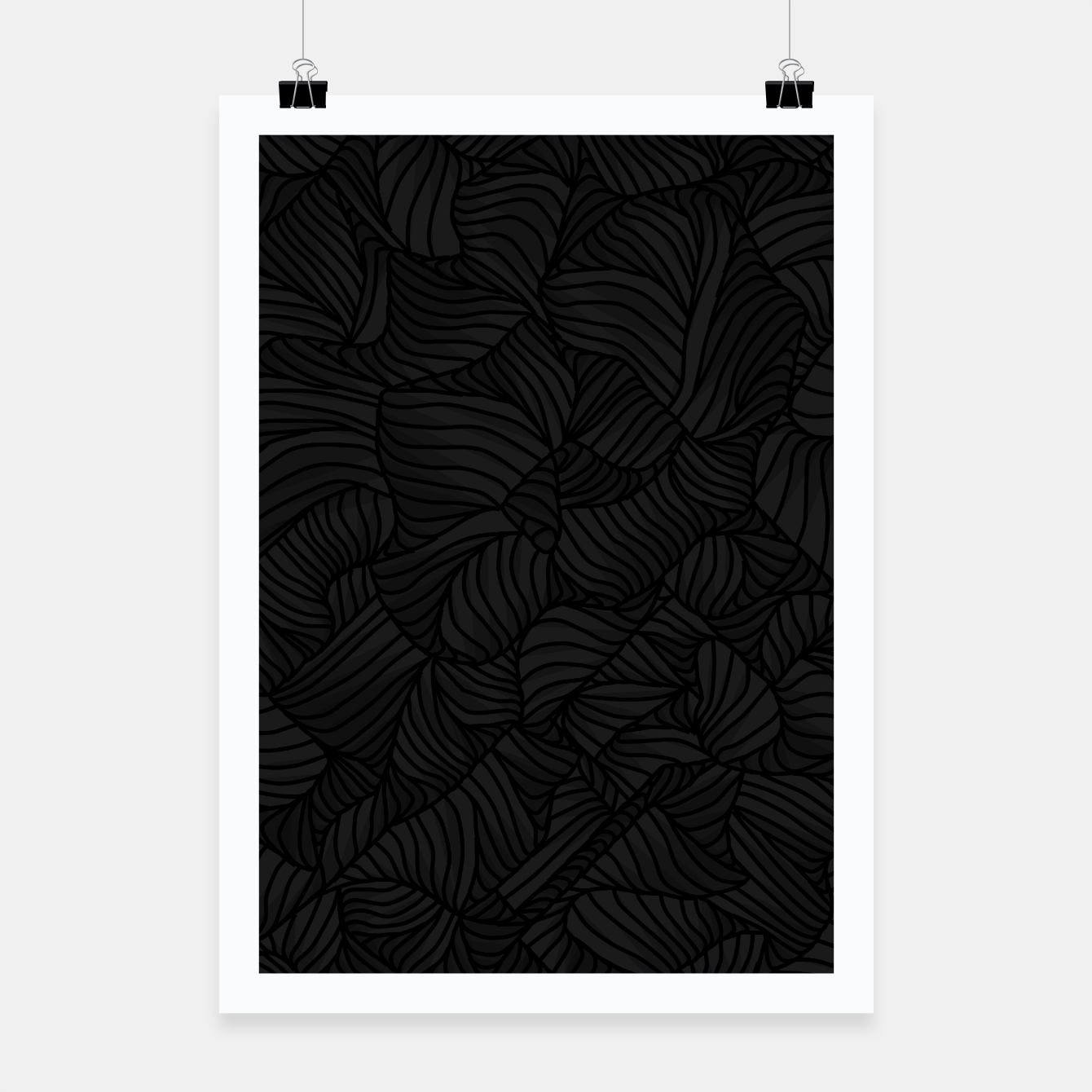 Image of blk Poster - Live Heroes