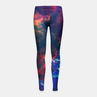 Thumbnail image of Sacrifices Girl's Leggings, Live Heroes