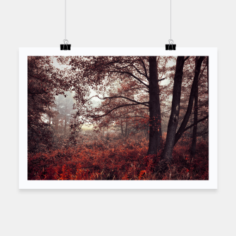 Thumbnail image of Red forest Plakat, Live Heroes