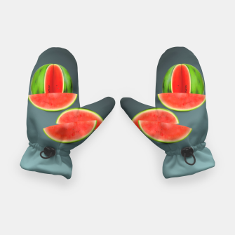 Thumbnail image of Watercolor Watermelon   Gloves, Live Heroes