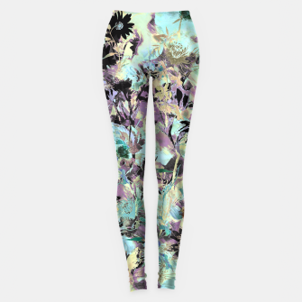 Thumbnail image of Bloom Floral Camouflage  Leggings, Live Heroes